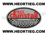 Paul Dunstall Suzuki Tank and Fairing Transfer Decal DDUN6-3